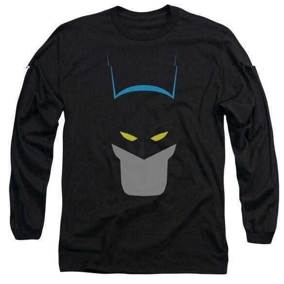 BATMAN SIMPLIFIED - L/S ADULT 18/1 - BLACK T-Shirt