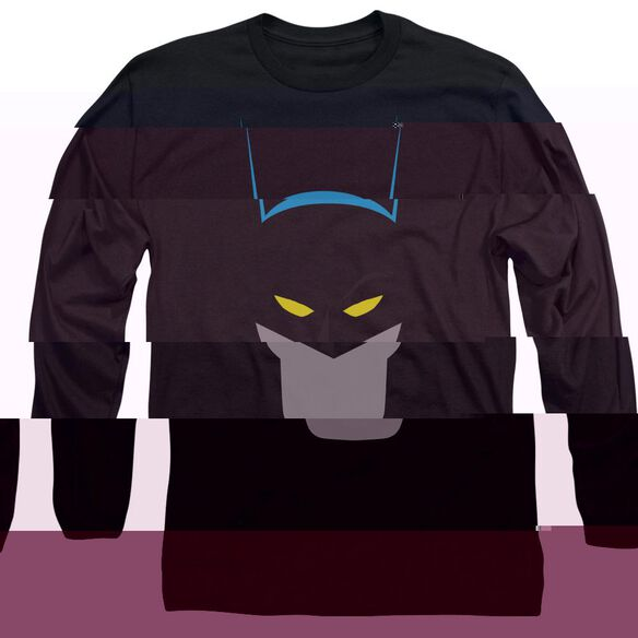 BATMAN SIMPLIFIED - L/S ADULT 18/1 T-Shirt