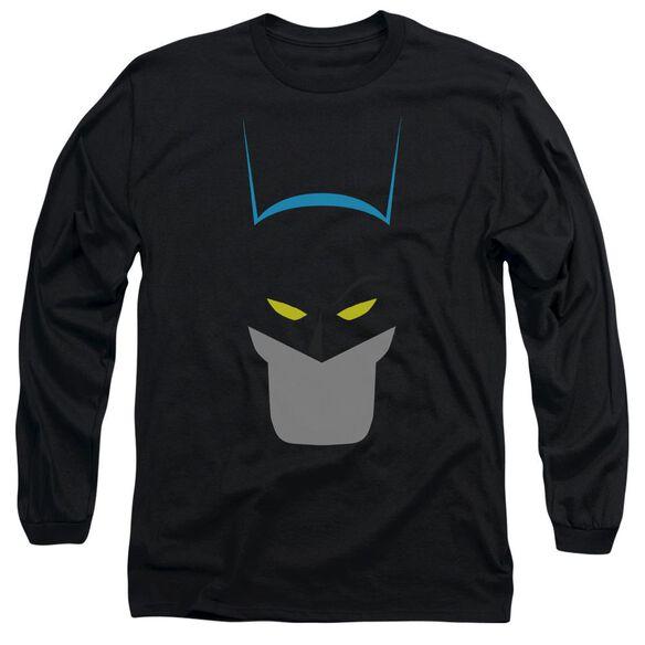 Batman Simplified Long Sleeve Adult T-Shirt