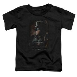 Batman V Superman Desert Gear Short Sleeve Toddler Tee Black T-Shirt
