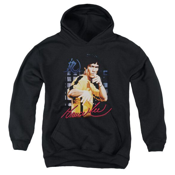 Bruce Lee Yellow Jumpsuit Youth Pull Over Hoodie