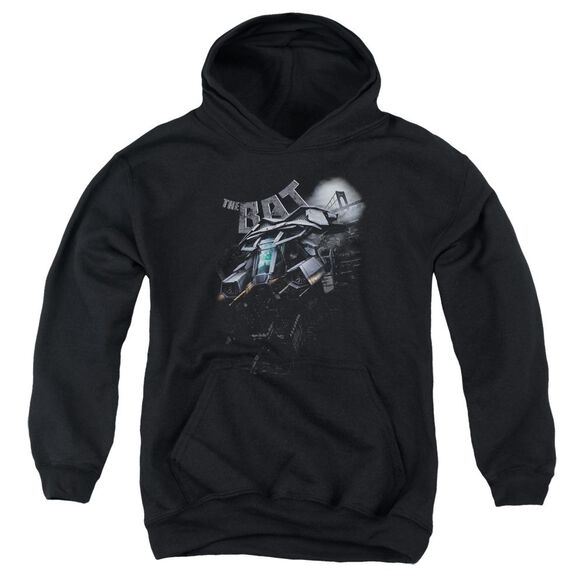 Dark Knight Rises Patrol The Skies Youth Pull Over Hoodie