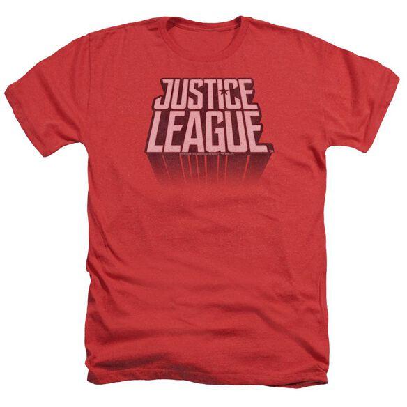 Justice League Movie League Distressed Adult Heather