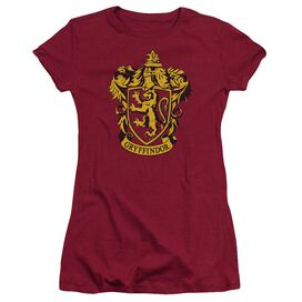 Harry Potter Gryffindor Crest Short Sleeve Junior Sheer T-Shirt