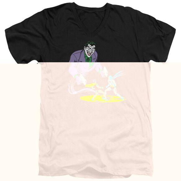 BATMAN DETECTIVE #69 COVER - S/S ADULT V-NECK - BLACK T-Shirt