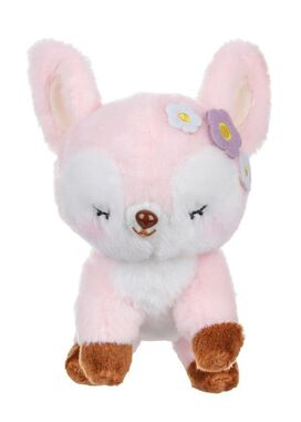 Pink Deer Plush Keychain