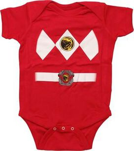 Power Rangers Red Ranger Snap Suit