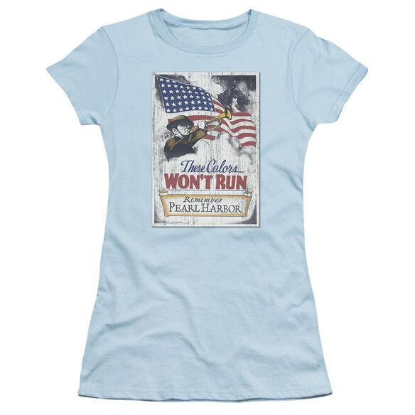 Army Pearl Harbor Short Sleeve Junior Sheer Light T-Shirt
