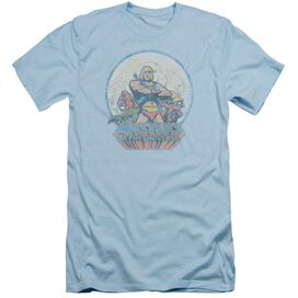 Masters Of The Universe He Man And Crew Short Sleeve Adult Light T-Shirt