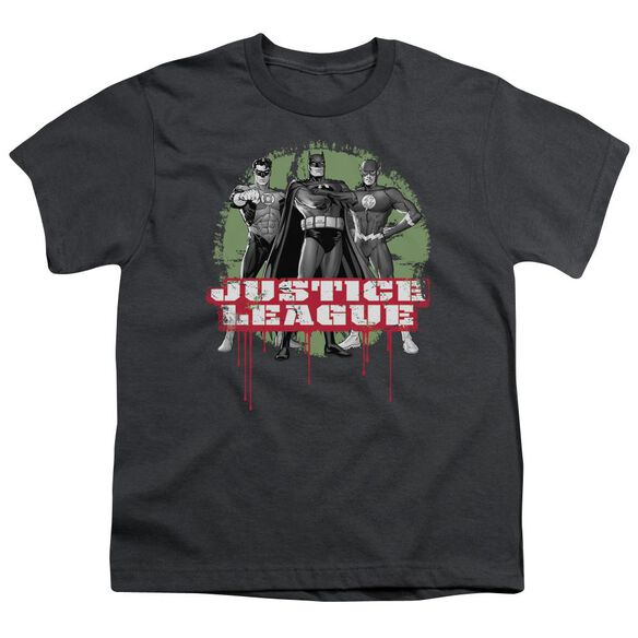 Jla Jla Trio Short Sleeve Youth T-Shirt