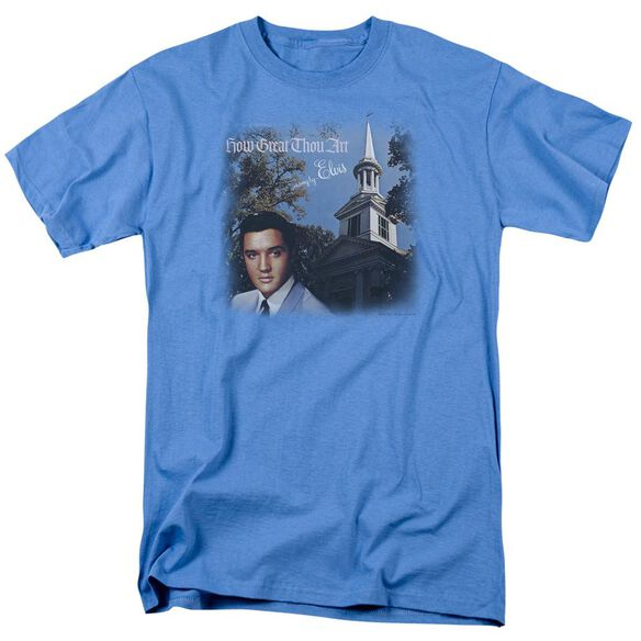 Elvis How Great Thou Art Short Sleeve Adult Carolina T-Shirt