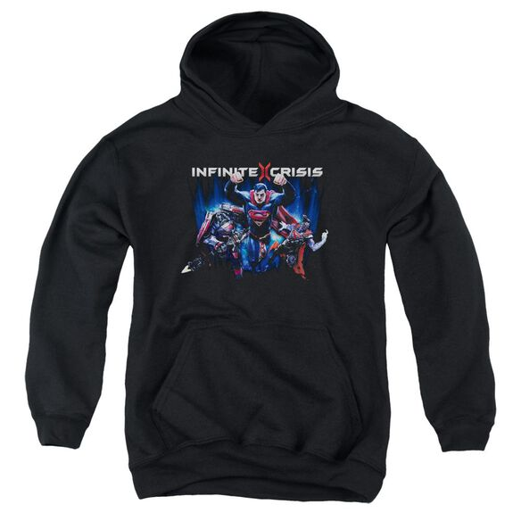 Infinite Crisis Ic Super Youth Pull Over Hoodie