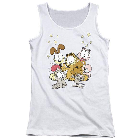 Garfield Friends Are Best Juniors Tank Top