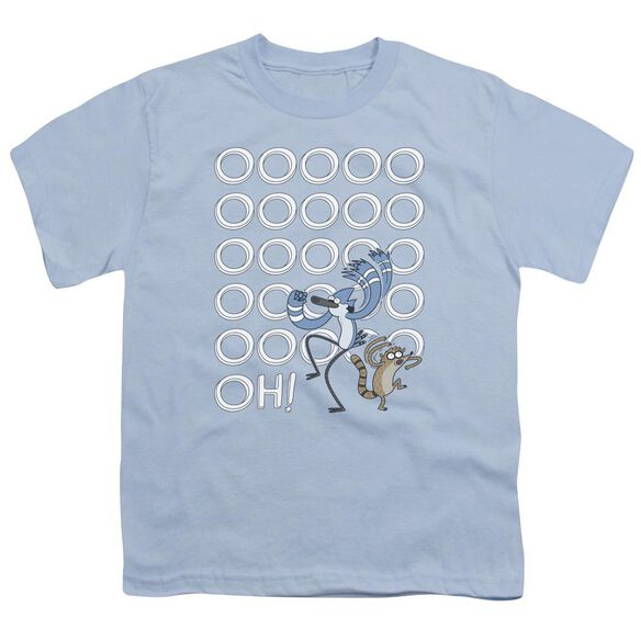 The Regular Show Oooooh Short Sleeve Youth Light T-Shirt