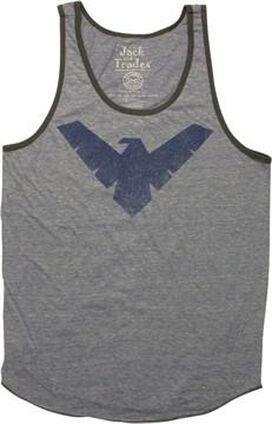 Nightwing Vintage Logo Tank Top