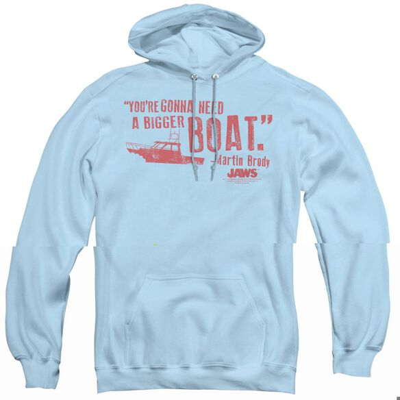 Jaws Bigger Boat-adult Pull-over