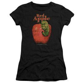 Pulp Fiction Red Apple Short Sleeve Junior Sheer T-Shirt