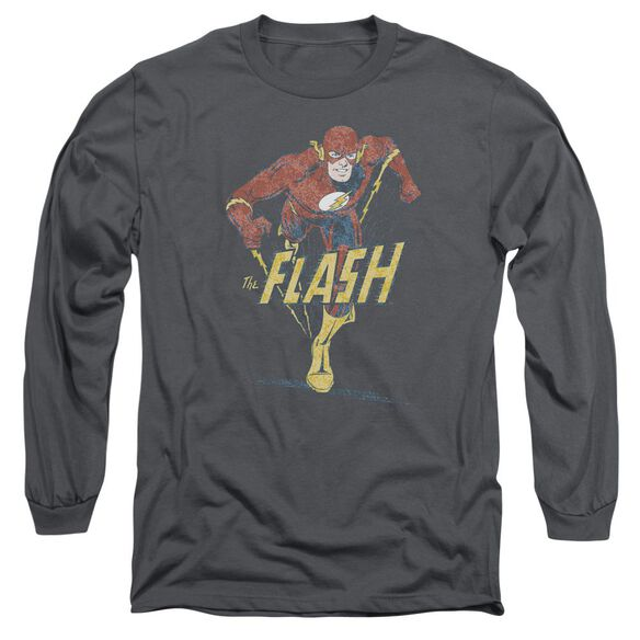 Dco Desaturated Flash Long Sleeve Adult T-Shirt