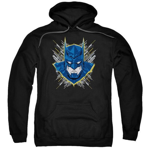 Batman Unlimited Bat Stare Adult Pull Over Hoodie