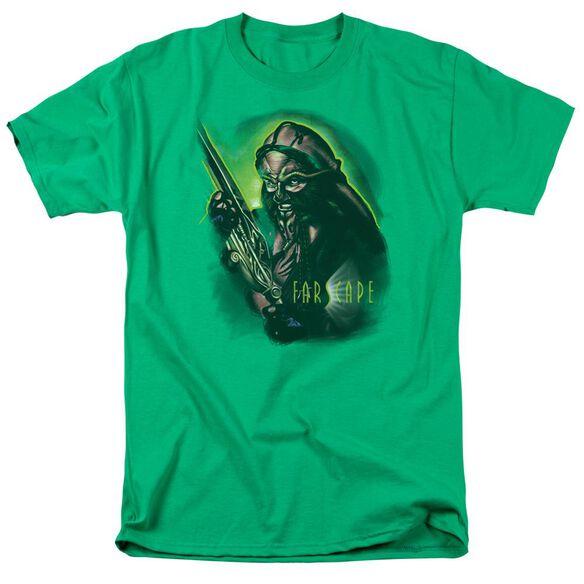 Farscape Dargo Warrior Short Sleeve Adult Kelly T-Shirt