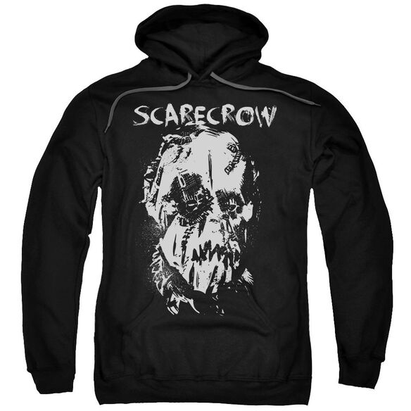 Batman Begins Scarecrow Face Adult Pull Over Hoodie