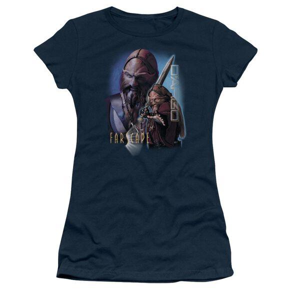 Farscape Dargo Short Sleeve Junior Sheer T-Shirt