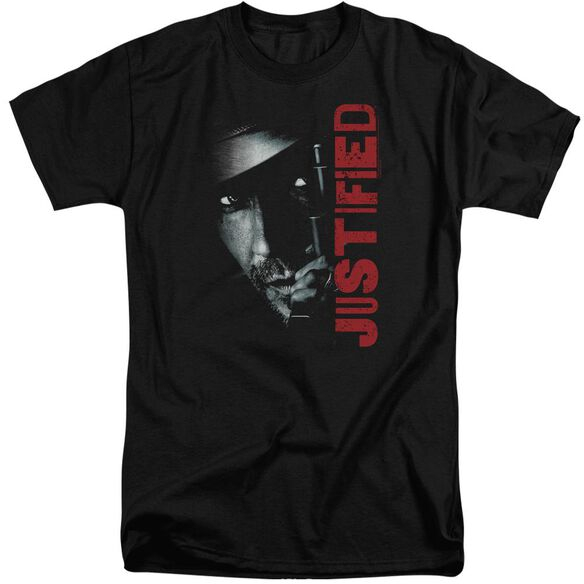 Justified Gun Short Sleeve Adult Tall T-Shirt