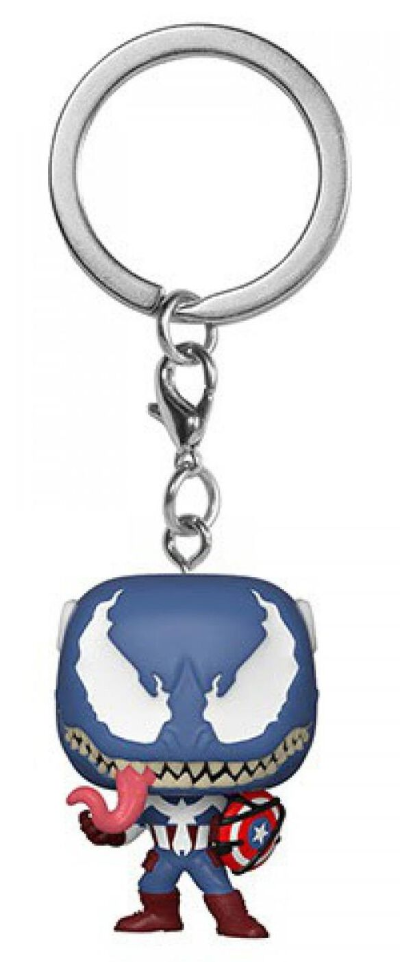 Funko Pocket Pop! Keychain: Venomized Captain America