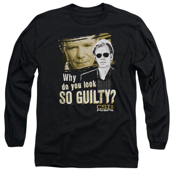 Csi Miami So Guilty Long Sleeve Adult T-Shirt