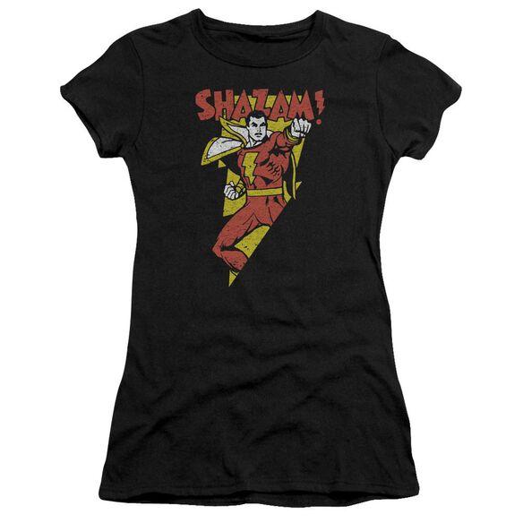 Dc In Bolt Short Sleeve Junior Sheer T-Shirt