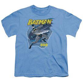 Batman Taste The Metal Short Sleeve Youth Carolina T-Shirt