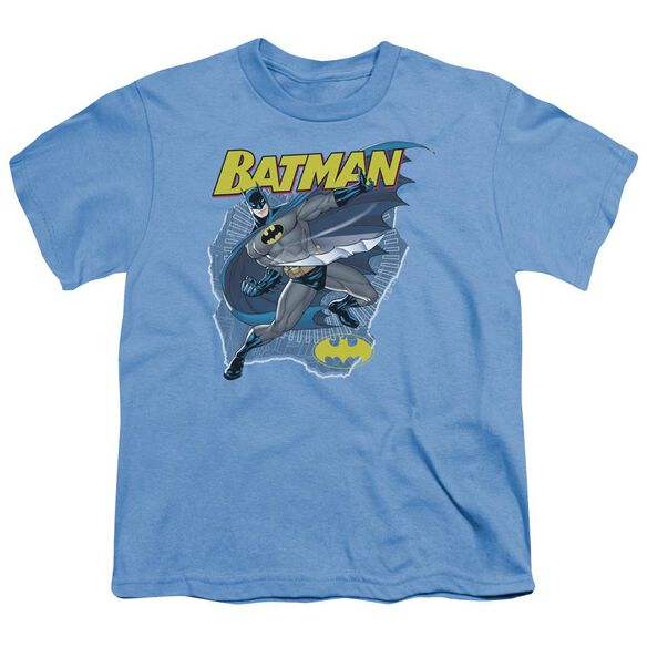 Batman Taste The Metal Short Sleeve Youth Carolina T-Shirt
