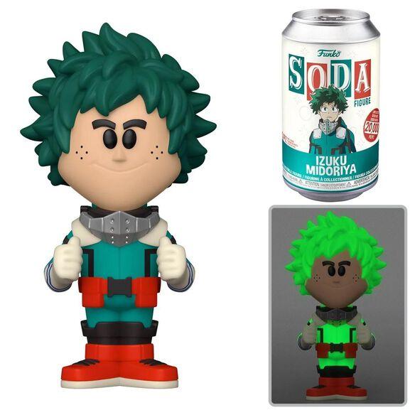Funko Soda: My Hero Academia - Deku (w/chase)