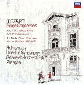 Vladimir Ashkenazy - Mozart & Bach: Piano Concertos