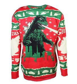 Godzilla Christmas Holiday Sweater