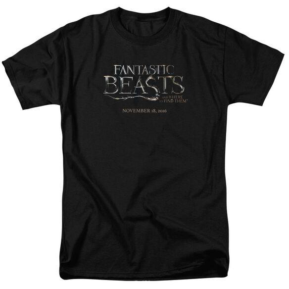Fantastic Beasts Logo Short Sleeve Adult T-Shirt