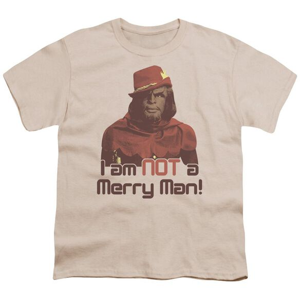 Star Trek Not Merry Short Sleeve Youth T-Shirt
