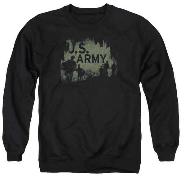 Army Soldiers Adult Crewneck Sweatshirt