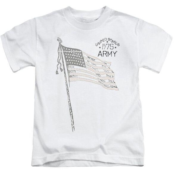 Army Tristar Short Sleeve Juvenile White Md T-Shirt
