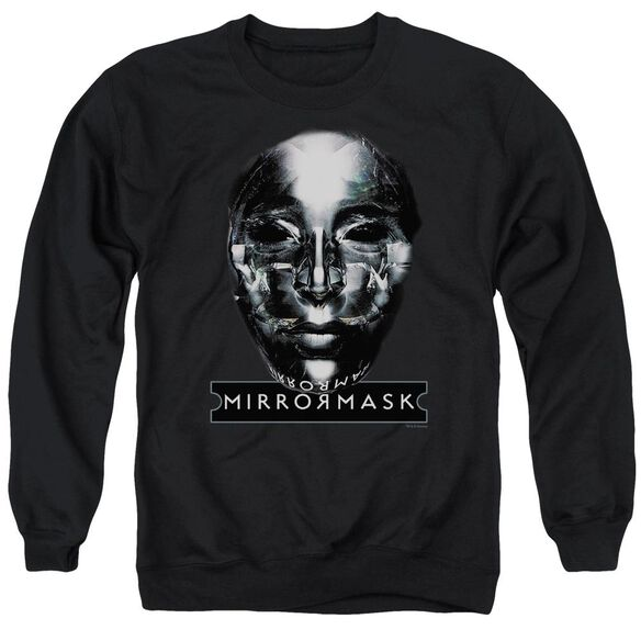 Mirrormask Mask Adult Crewneck Sweatshirt