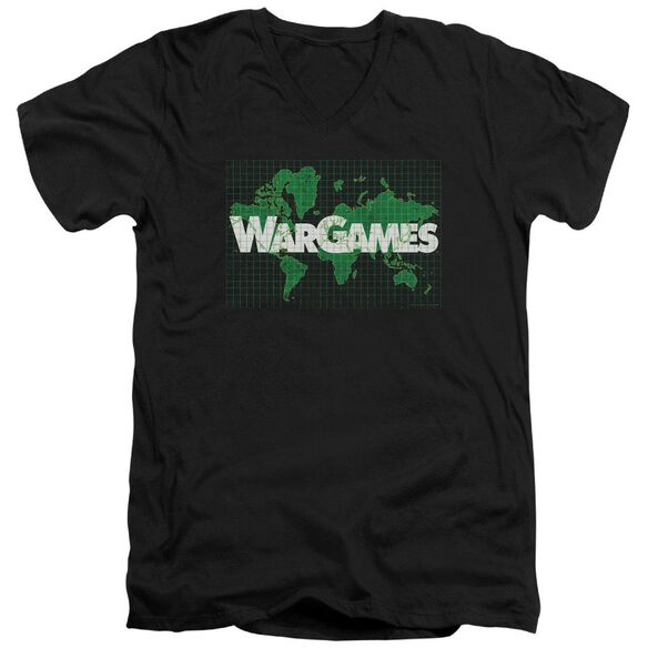 Wargames Game Board Short Sleeve Adult V Neck T-Shirt