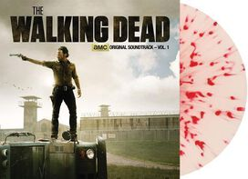 Various Artists - The Walking Dead Vol. 1 Original Soundtrack [Exclusive White with Red Splatter Vinyl]