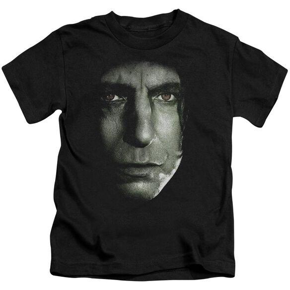 Harry Potter Snape Head Short Sleeve Juvenile T-Shirt