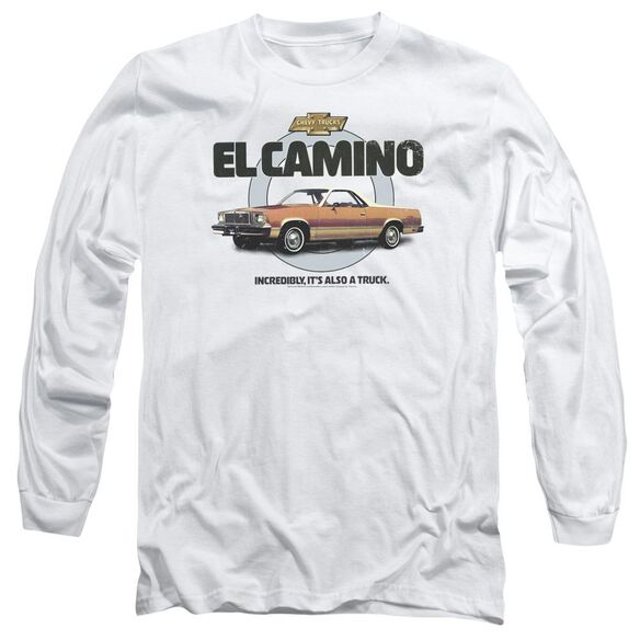 Chevrolet Also A Truck Long Sleeve Adult T-Shirt