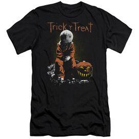 Trick R Treat Sitting Sam Short Sleeve Adult T-Shirt