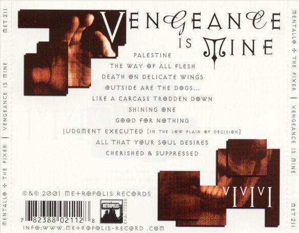 Vengeanace Is Mine 0701
