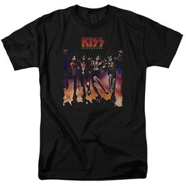 Kiss Destroyer Cover Short Sleeve Adult T-Shirt
