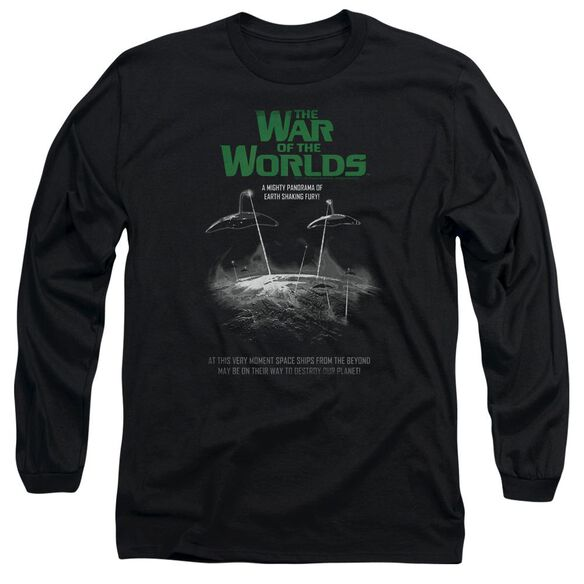 War Of The Worlds Attack Poster Long Sleeve Adult T-Shirt