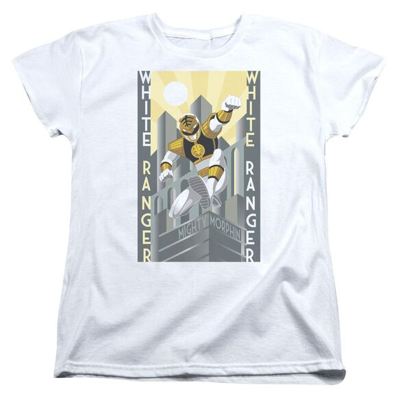Power Rangers Ranger Deco Short Sleeve Womens Tee T-Shirt