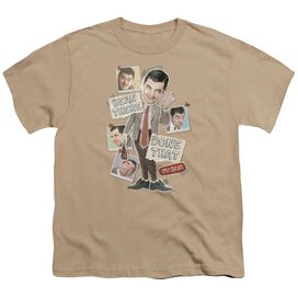 Mr Bean Bean There Short Sleeve Youth T-Shirt